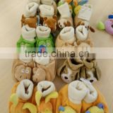 Plush Animal Design Baby Soft Socks