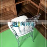 Chiavari Napoleon Phoenix Ghost Chair Transparent Clear