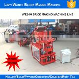 burning free coal ash brick making machine / auto brick making machine in Brick Making Machinery