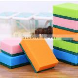 OEM wholesale promotional abrasive kitchen cleaning nylon mixed polyester sponge scouring pads