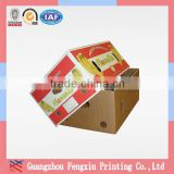 Custom Printed Separate Lid 5 Ply Corrugated Banana Carton Box                                                                         Quality Choice