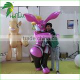 Fabulous Double Layer Sexy Inflatable Bunny Suit / Rabbit Custome / Inflatable Animal Suit