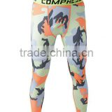 Cycling wear men pants compression tights/mens compression tights/custom compression tights