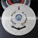 Kuwait Government Military Coin / Customized Nickel Plated Islamic Coin