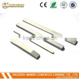 China manufacturer cemented carbide strips tungsten carbide bar strips low price tungsten carbide strip