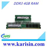 Factory Wholesale desktop & laptop PC3-10600 non ecc 1333mhz ddr3 ram 4gb with Original chips