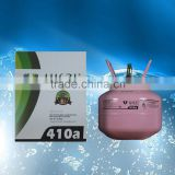 Mixed Cooling refrigerant gas R410a replacement of R22 2.8kg or other packaging specifications can be customized