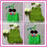 3 sets infant crochet carnival costume for photography props