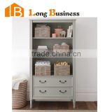 LB-VW5077 High gloss modern wooden bookcase design with drawers                                                                         Quality Choice