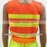 Hi viz roadway reflective safety vest clothing workwear