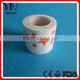 colorful rigid sports tape/medical zinc oxide tape