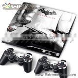 The Masked Faces Skin Stickers For PS3 Slim Console Controller