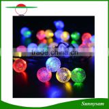 LED Solar Hanging Decorative Balls Lights Waterproof Outdoor Garden Tree Fairy Lighting Warm White/White/RGB