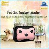 Mini GPS Tracking for dog ,cat and other pets/ Animal with free online software platform