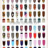 Super Thin Nail Polish Stick Foils Wraps Topcoat Nail Polish Sticker 80Styles for your choice HN1198
