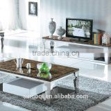 Living Room Furniture Centre Table TV Stand Fancy Stainless Steel Marble Coffee Table Modern Coffee Table