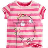 kids fashion t shirt for summer baby girl t shirt