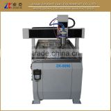 6090 CNC Small 4 Axis With 3.0Kw Water Coolant Spindle Step Driving System 600*900*150mm ZK-6090