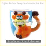 Good quality excellent stylecartoon white ceramic mugs bulk