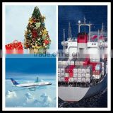 christmas decoration/gift shipping from ningbo/shanghai/guangzhou/shenzhen/foshan/xiamen China