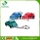 Popular promotion gift of plastic led car model keychain