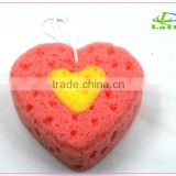 Design lovely hot sell sea foam sponge for baby cleanser