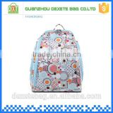 Canvas colorful backpack diaper bags for boys
