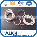 Auqi heater ningbo, with compensation wire duct heater, ring shape 12v heating element