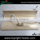 High quality industrial heating element infrared ceramic heater