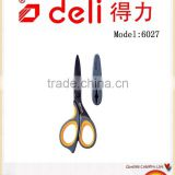 Deli Stainless steel Scissors with Soft plastic handle