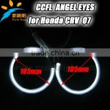 Factory Supply Auto Accessory 105MM Halo Ring Bulbs CCFL Angel Eyes for Honda Angel Eyes Ring Headlights