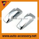 Best selling car accessories chrome washer jet cover windscreen nozzel universal car truck