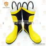 Firefighting fire fighter heat insulation fire emergency safety boots with handle -Ayonsafety