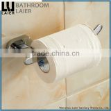 China Manufacture Zinc Alloy Chrome Finishing Bathroom Sanitary Items Wall Mounted Toilet Paper Holder