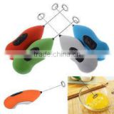 Kitchen mutilfuction tool mini electrical egg stirrer stainless steel machine milk coffee mixer