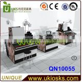 French Furniture Style Sofa Reception Desk Salon Kiosk Modern and Customer Made Kiosk from Competitive China Factory