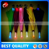 Light-Saber LED Shaft Flash Light Umbrella