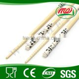 Barbecue art craft decoration colorful bamboo chopstick