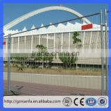 Hot dipped Galvanized Fence Panel for Fence Construction/portable construction fence(Guangzhou Factory)