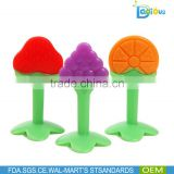China Manufacturer Custom Silicone Baby Teether Wholesale, BPA Free Silicone Teething Teether Toy
