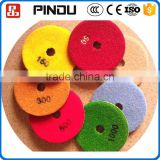 resin bonded marble wet floor sharpening diamond grinding disc pad for concrete