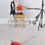 kawasaki brush cutter/backpack brushcutters 43cc with oleo mac starter at CE Euro II standard