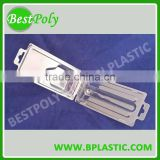 Clear PVC PET PS Clamshell Box Custom Clamshell Packaging