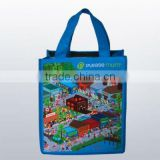 Shopping bag with 4C printing laminated
