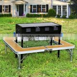 New product Aluminum Folding BBQ Table korean bbq grill table
