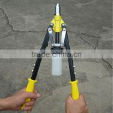 18'' Professional Industry Heavy Duty Double Hand Riveter Gun with A Collecting Bottle/hand rivet nut tool