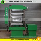 Rubber Playground Surface/rubber tile/rubber brick making machine