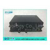 Optical audio receiver HD SDI to Fiber Converter 4 Channel for CCTV System 85mm x 76mm x 30mm