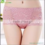 Sexy lace panty women panties plus size sexy transparent ladies underwear panties mature women underwear