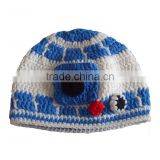 Free shipping Handmade Milk protein cotton yarn handmade baby hat - fits 1-3 year old toddler